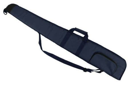 "BLUE Well Padded Gun Slip 52"" Shotgun Bag Clay Pigeon Shooting Hunting New"